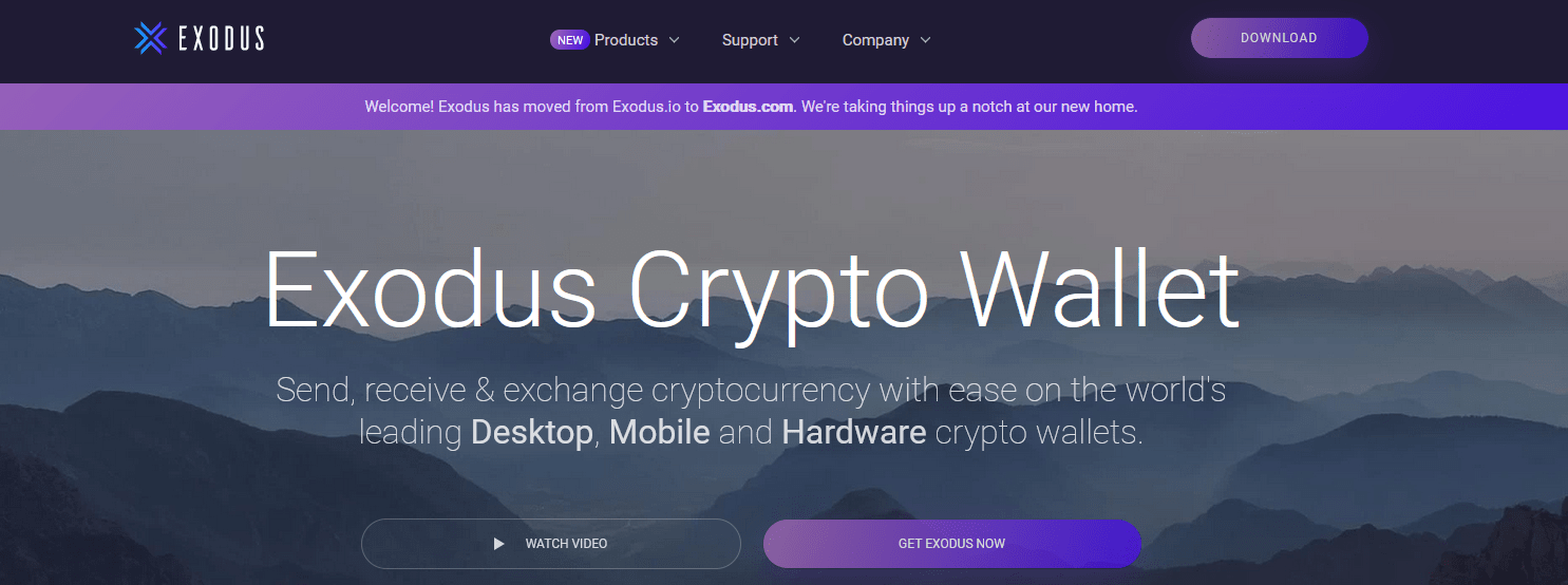 Exodus Wallet Test