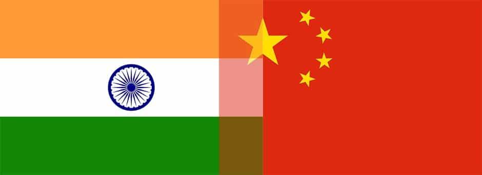 Indien Vs China