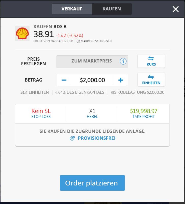 Shell-Aktie-kaufen