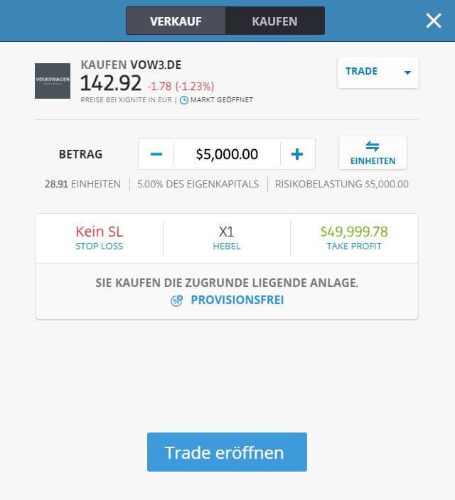 VW-Aktien-Kaufen