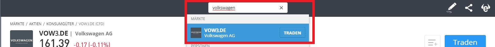 VW-Aktie-suchen