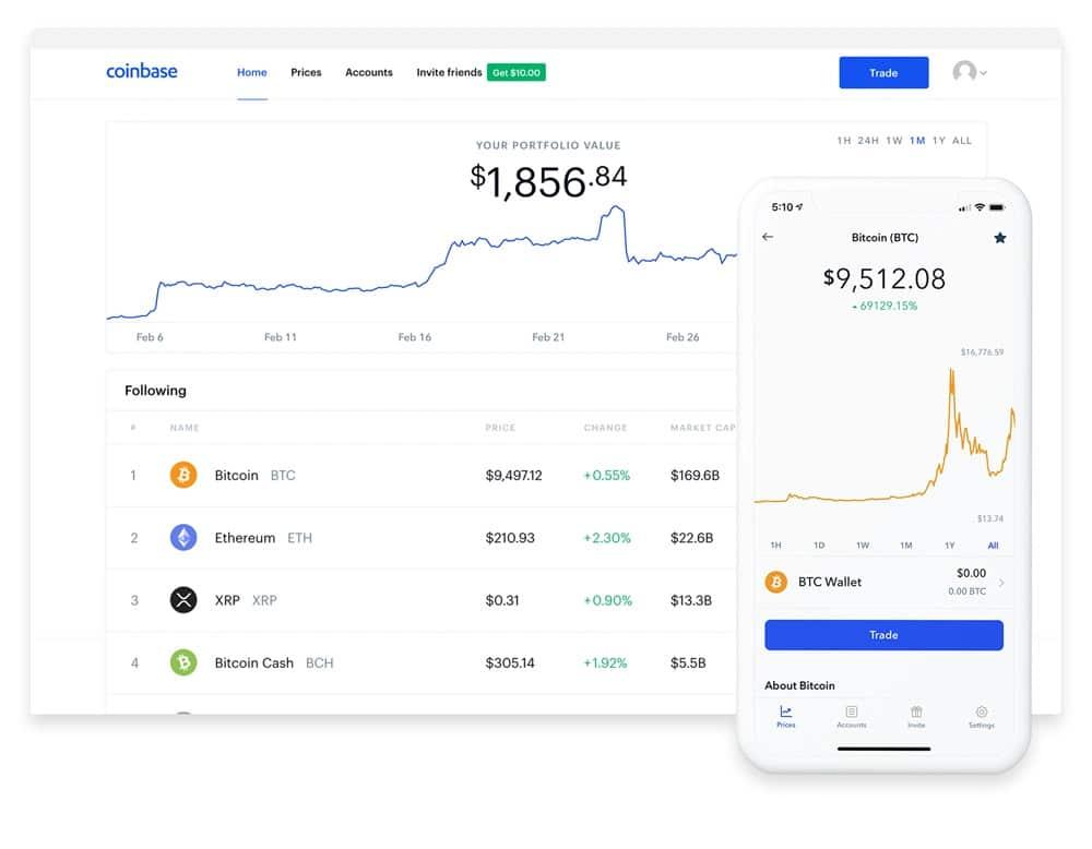 coinbase plattform
