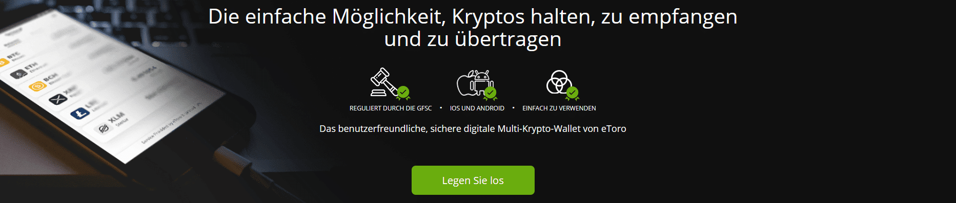 eToro Wallet Test