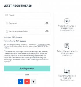 markets.com registrieren