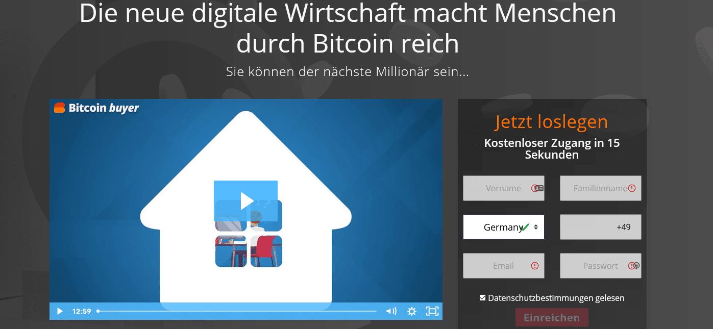 Bitcoin Buyer Test
