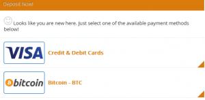 Bitcoin Fortress Einzahlung