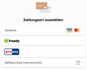 Capital.com Einzahlung
