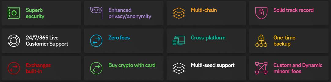 Coinomi Wallet Vorteile