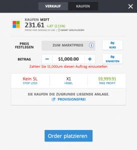 Microsoft Aktie Kaufen - eToro