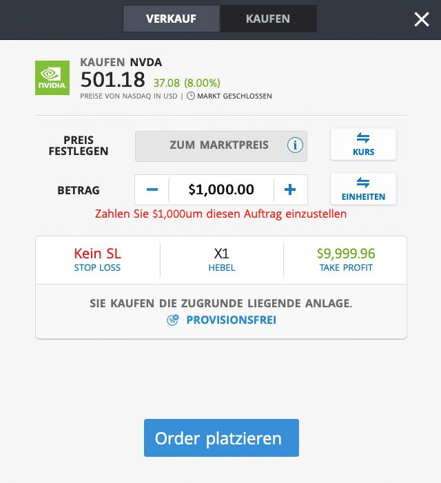 Nvidia Aktie kaufen - Kaufen