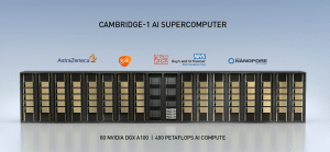 Der Nvidia Supercomputer Cambridge 1