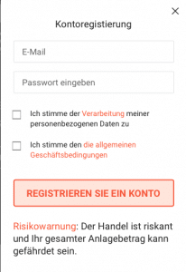 Libertex Anmeldung - Konto Anmelden