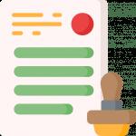 Reguliert und Zertifiziert - Icon