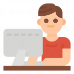 Online Broker Icon