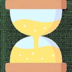 Sanduhr - Langfristig - Zeit - Icon