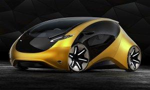 Auto aus der Zukunft - Future Concept - E auto