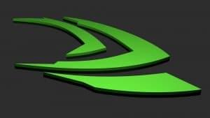 Nvidia Logo - Auf Schwarz