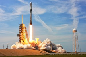 Falcon 9 Rakete von SpaceX