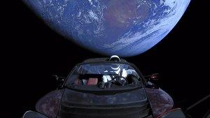 Falcon Heavy mit Tesla Roadstar