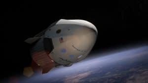 SpaceX Aktie - satellite - um die Erde