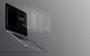 Die Palantir Aktie - Software am Laptop