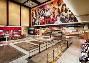 leeres AMC Kino