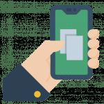 Smartphone Mobile Broker Icon