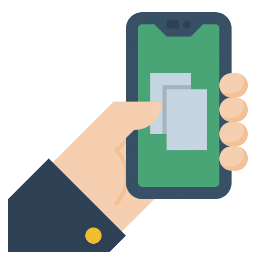 Smartphone Mobile Broker Icon