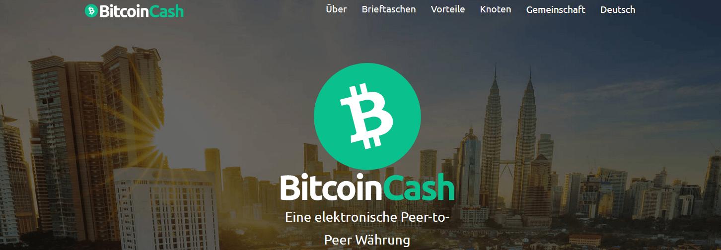 Bitcoin Cash Kauf