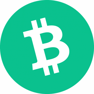 Bitcoin Cash Logo Circle