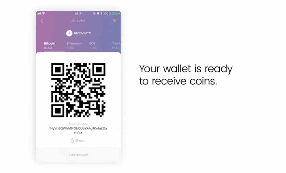 Lumi Wallet Schritt 2
