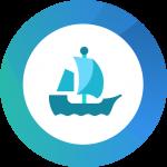 OpenSea NFT Logo