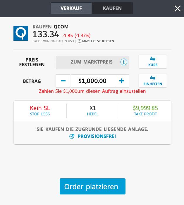 Qualcomm 5G Aktie kaufen