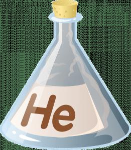 Helium Flasche