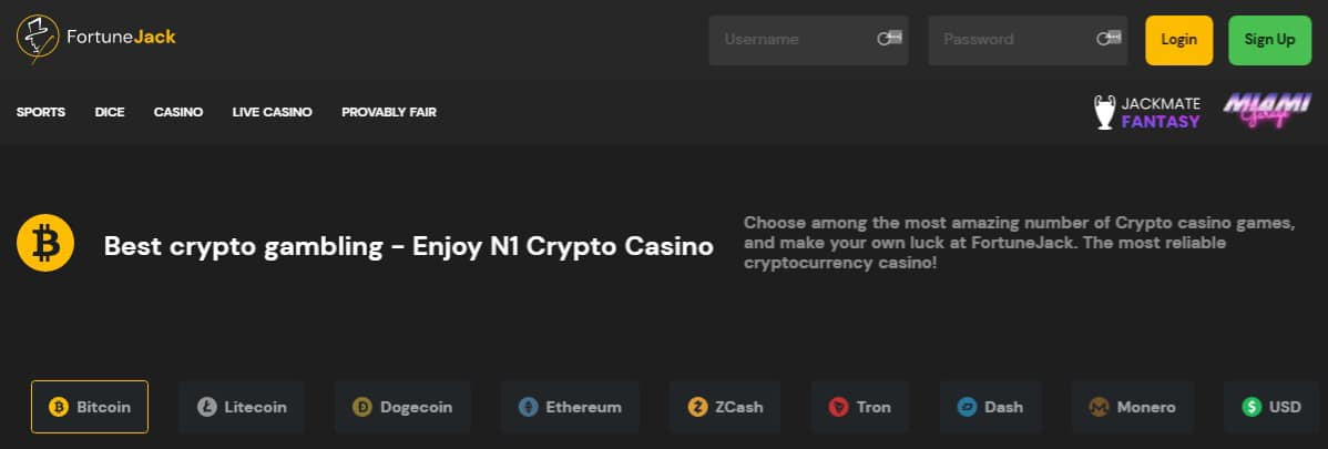 Alternative Kryptowährungen casino