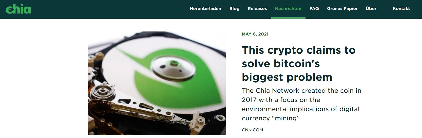 Chia Coin kaufen