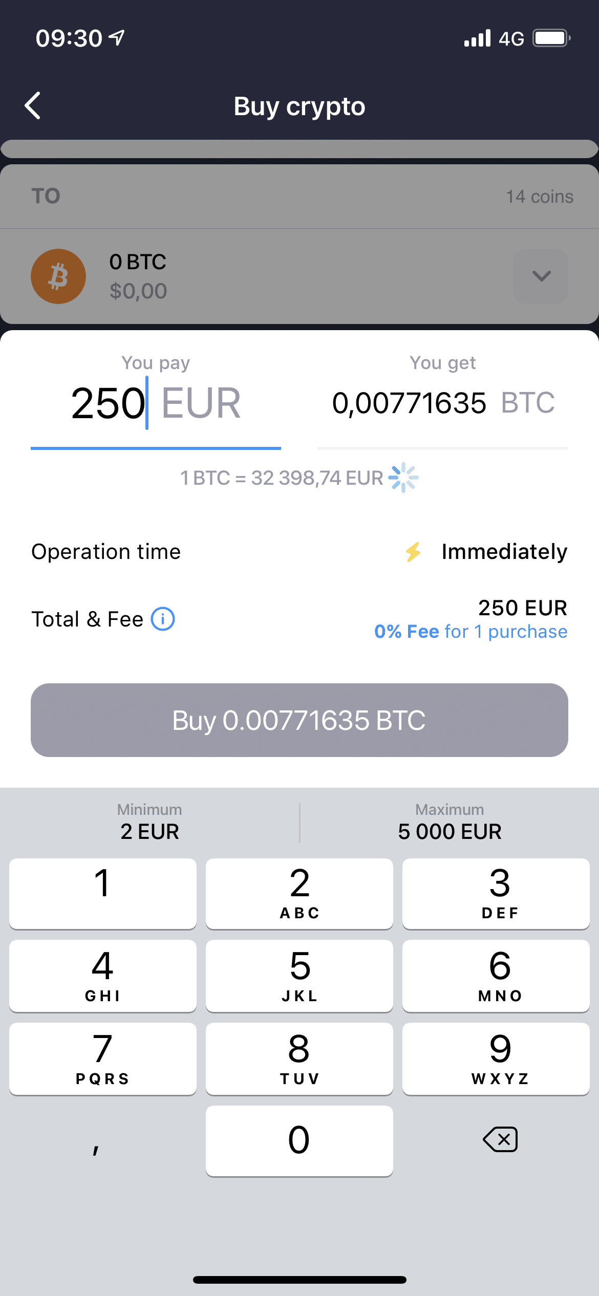 Crypterium-Bitcoin-kaufen