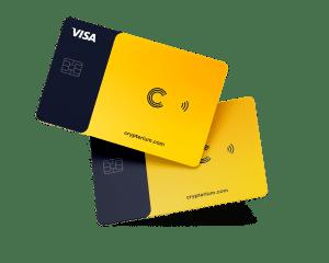 Crypterium-VISA-Debitkarte