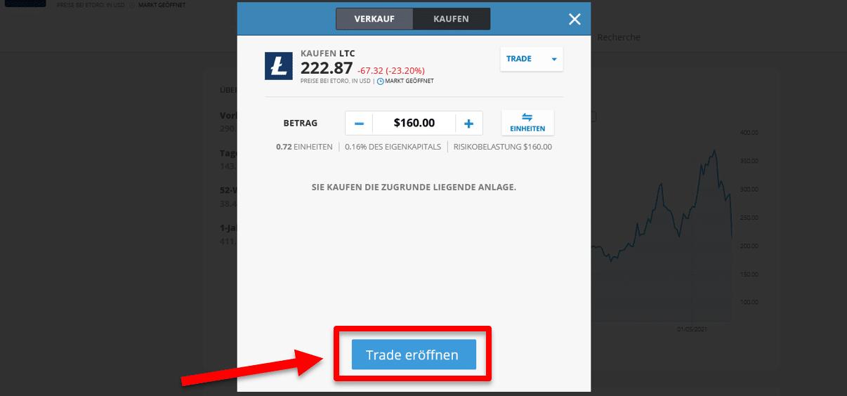 Litecoin Kaufen bei eToro