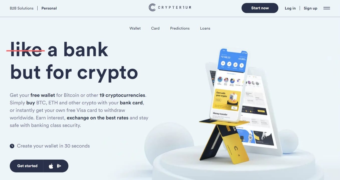 Crypterium Wallet review