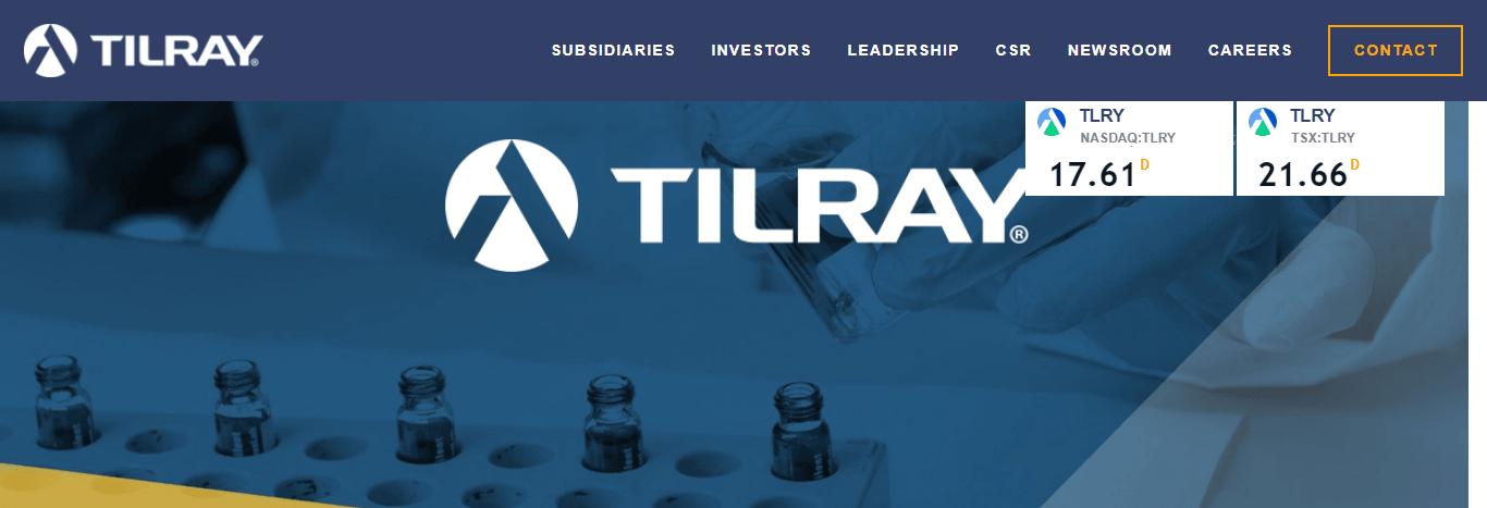 Tilray Logo review
