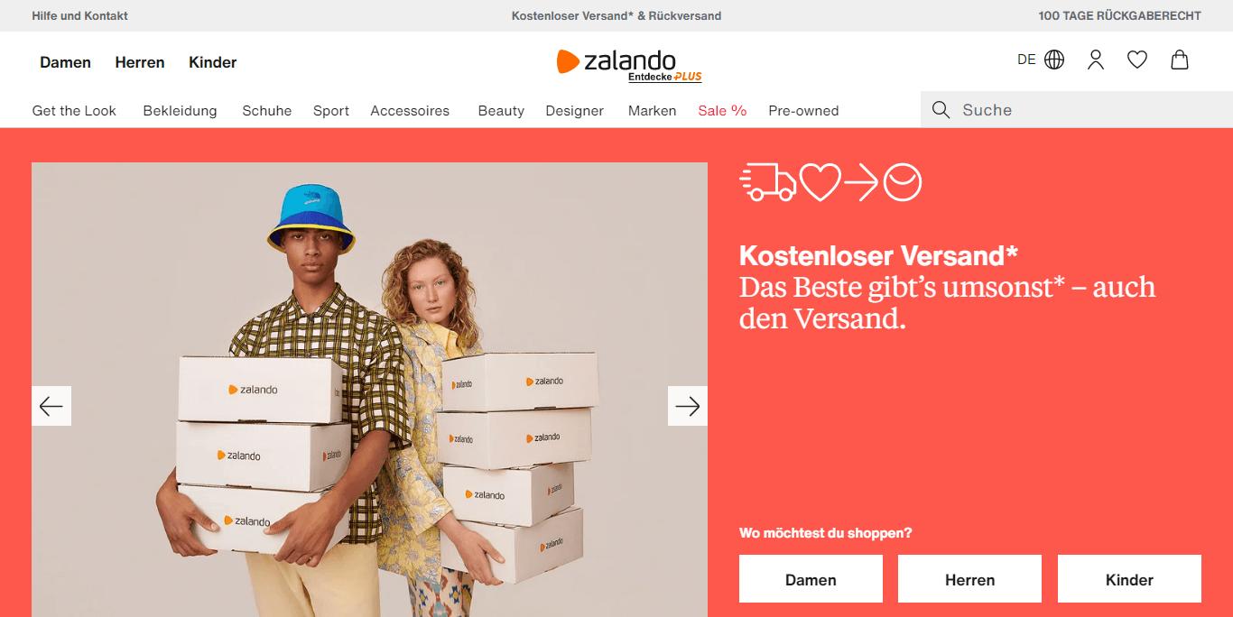 Zalando Logo review
