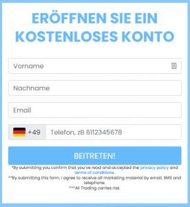 BitIQ Anmeldung