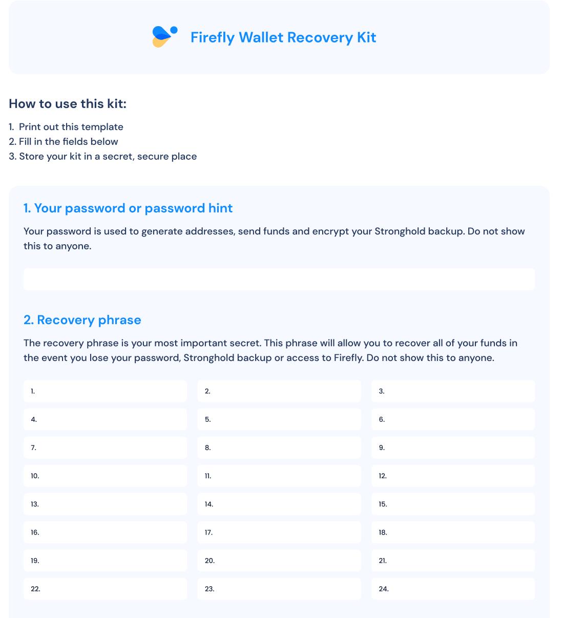 Firefly Sicherheit