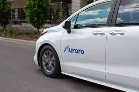 Aurora - Weißes Auto