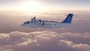 United Airlines - Elektrische Flugzeuge