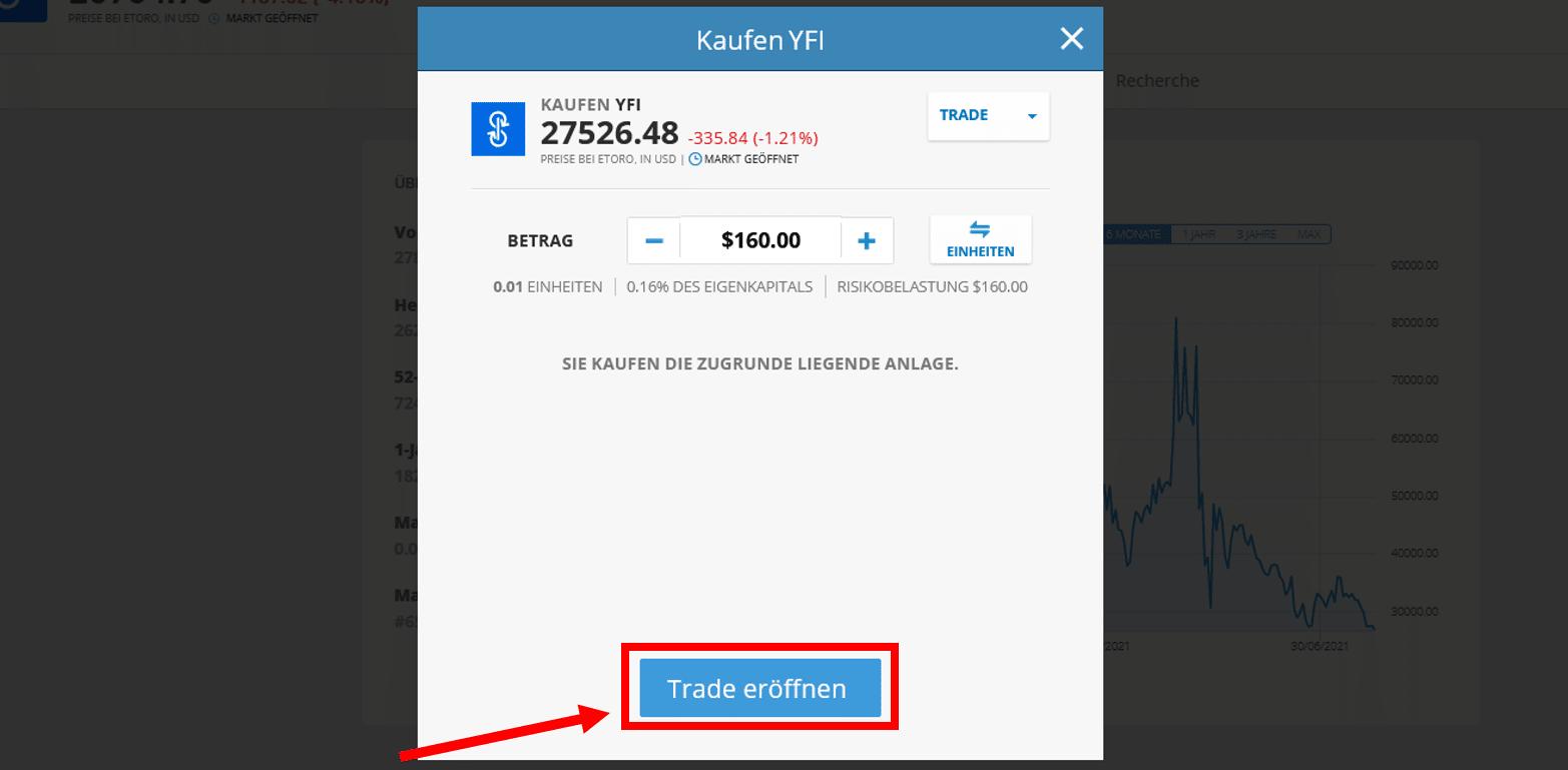 yfinance kaufen bei eToro