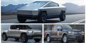 Rivian vs Ford vs Tesla