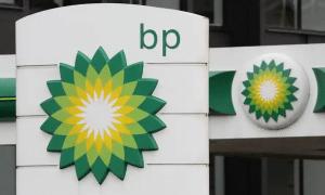 BP Tankstelle und Logo