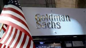 Goldman Sachs Logo and USA Flag